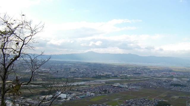 三上山(近江富士) 展望台からの景色