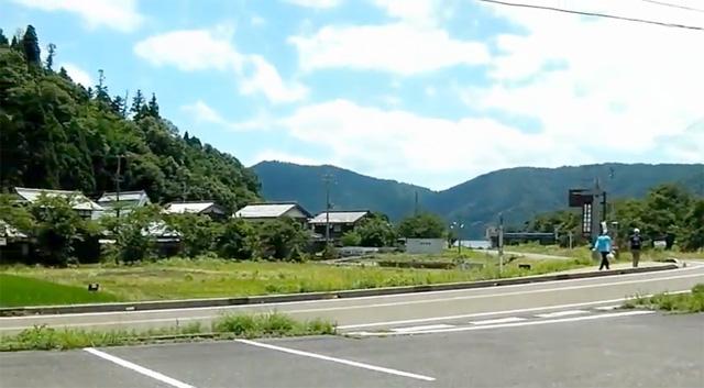 賤ヶ岳 登山口付近駐車場