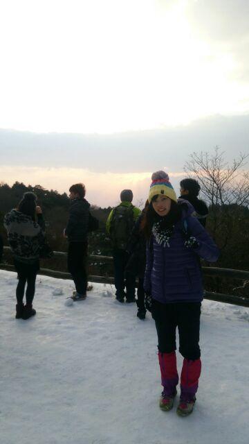 金剛山日の出記念撮影