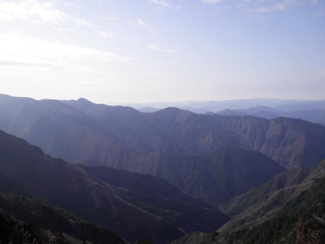 稲村ヶ岳山頂 眺望