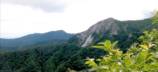 伯耆大山 6合目からの眺望1