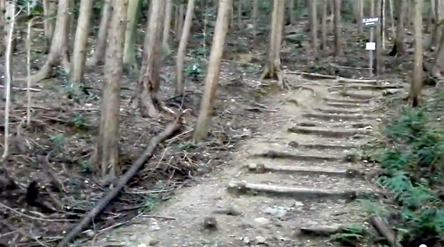 三上山(近江富士)登山口