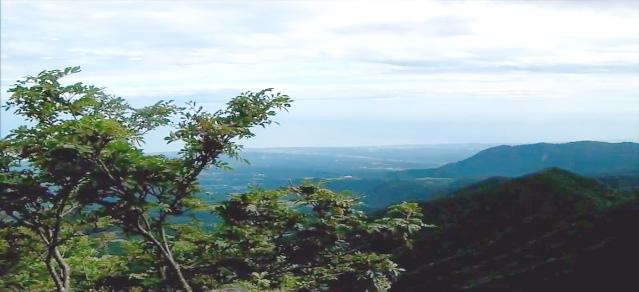 伯耆大山 6合目からの眺望2