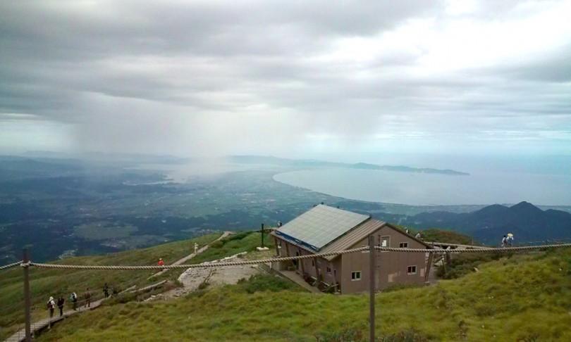 伯耆大山 山頂からの眺め