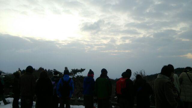金剛山初日の出