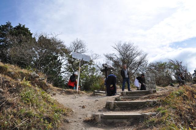 曽爾高原~俱留尊山 亀山峠の分岐