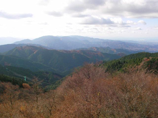 金剛山 山頂展望台からの眺望