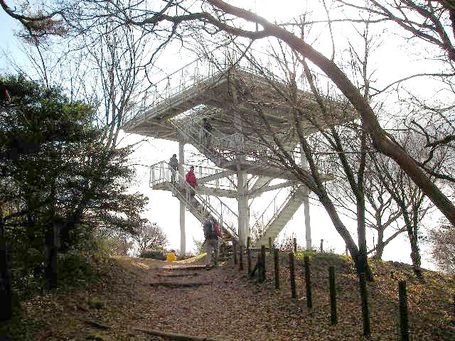 金剛山 山頂展望台